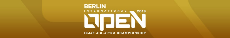 Berlin International Open IBJJF Jiu-Jitsu Championship 1