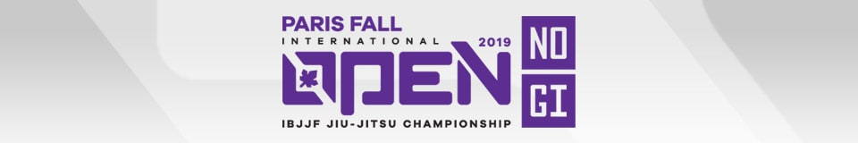 Paris Fall International Open IBJJF Jiu-Jitsu Championship 1