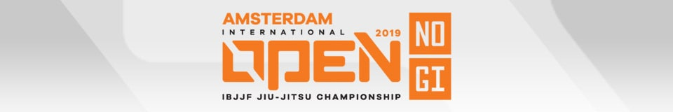 Amsterdam International Open IBJJF Jiu-Jitsu No-Gi Championship 1
