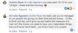"""AJ Agazarm attacca Gordon Ryan: """"Sei solo un codardo pieno di steroidi"""". E Ryan risponde per le rime! 4"""
