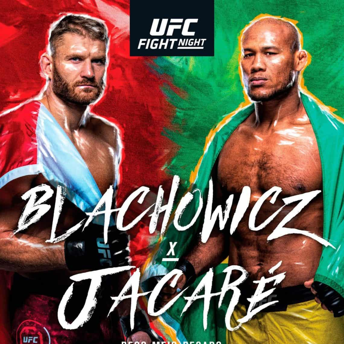 UFC San Paolo 2019: Blachowicz vs. Jacaré 1