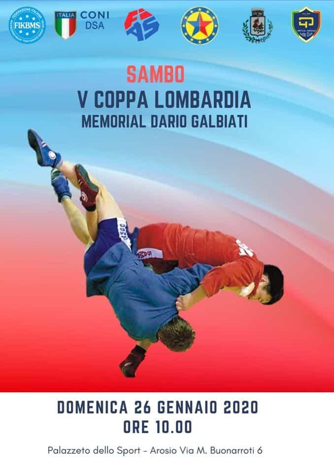 Sambo: V Coppa Lombardia - Memorial Dario Galbiati 1
