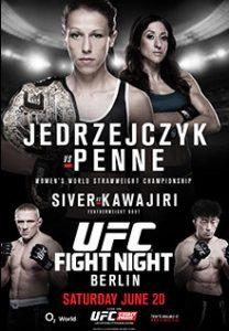 UFC Fight Night: J?drzejczyk vs. Penne 2