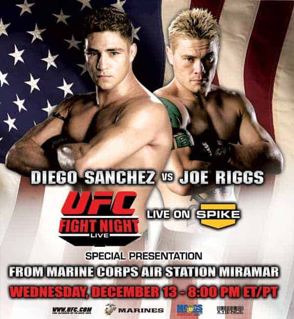 UFC Fight Night: Sanchez vs. Riggs 1