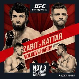 UFC Fight Night: Zabit vs. Kattar 1