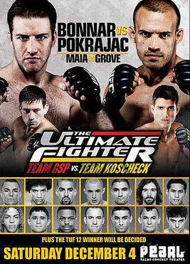 The Ultimate Fighter: Team GSP vs. Team Koscheck 1