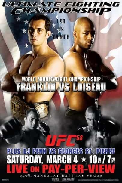 UFC 58: USA vs. Canada 1