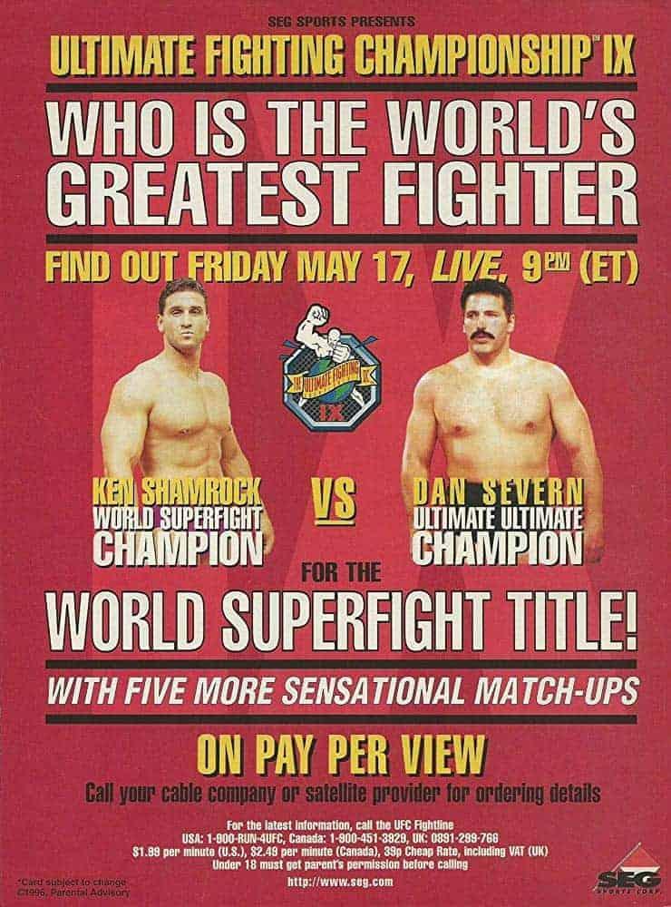 UFC 9: Motor City Madness 1