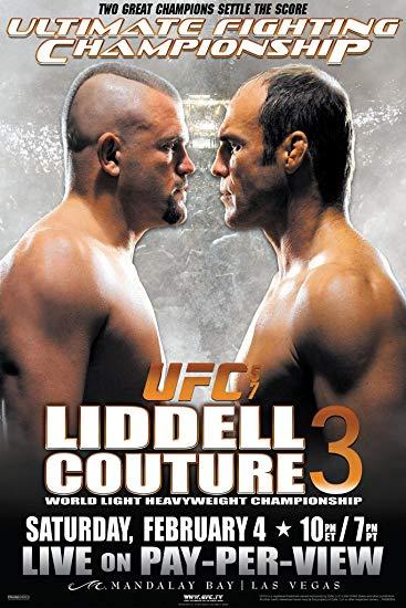UFC 57: Liddell vs. Couture 3 1