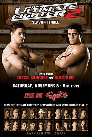 The Ultimate Fighter: Team Hughes vs. Team Franklin Finale 1