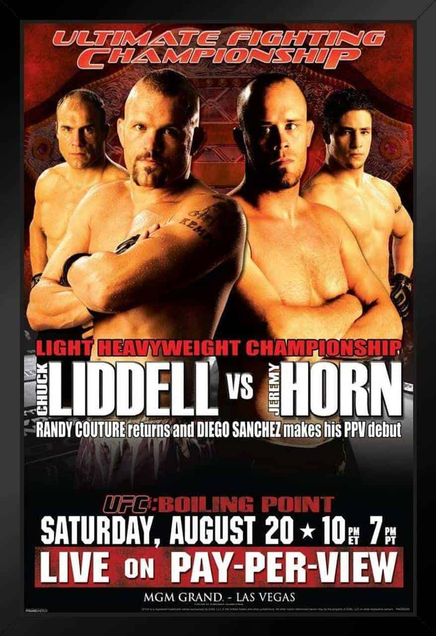 UFC 54: Boiling Point 1