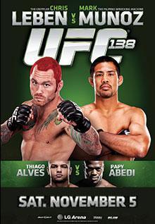 UFC 138: Leben vs. Muñoz 1
