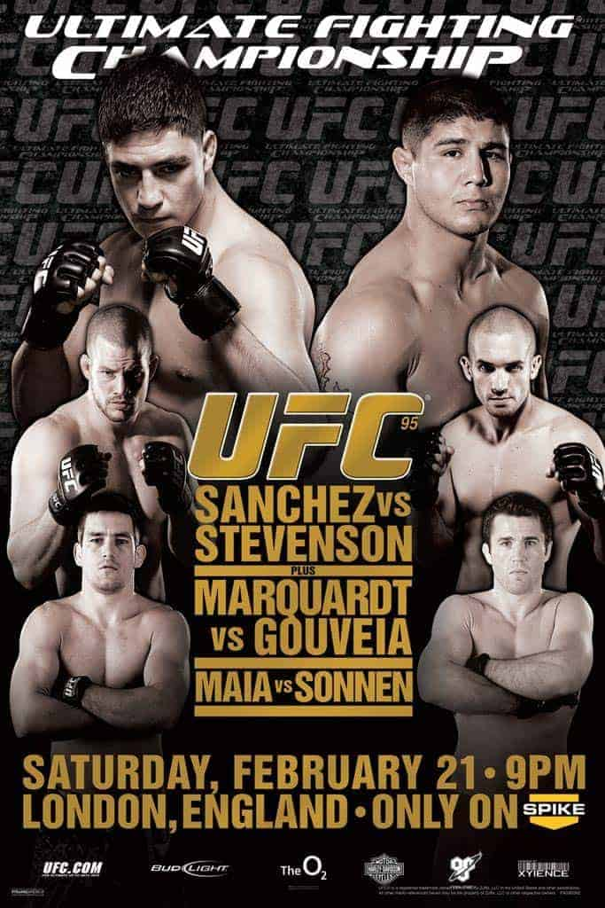 UFC 95: Sanchez vs. Stevenson 1