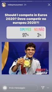 Rumor: Mikey Musumeci lotterà all'Europeo IBJJF 2020? 2