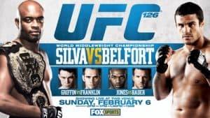 UFC 126: Silva vs. Belfort 2