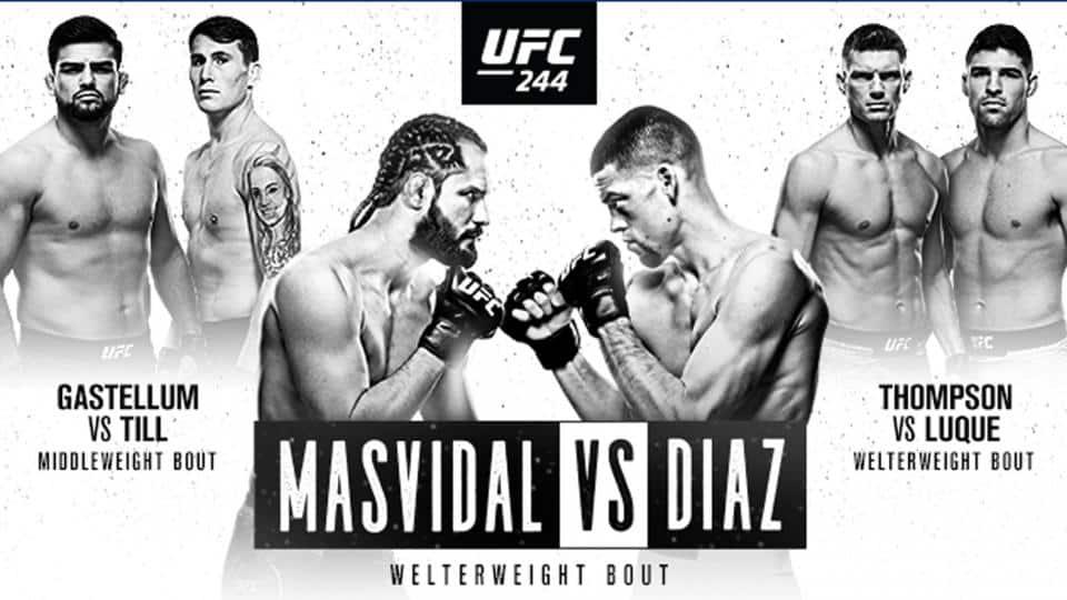 UFC 244: Masvidal vs. Diaz 1