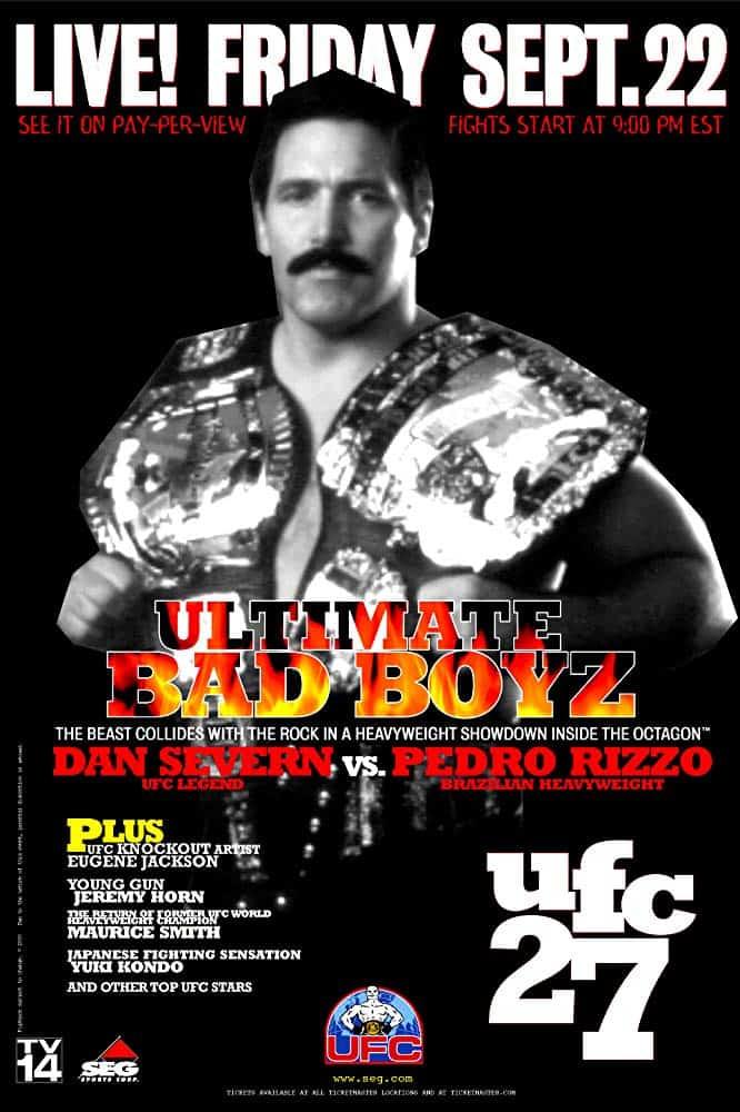UFC 27: Ultimate Bad Boyz 1