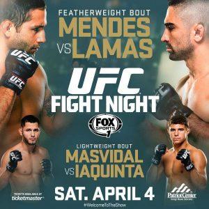 UFC Fight Night: Mendes vs. Lamas 2