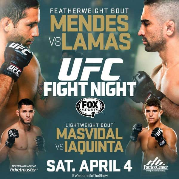 UFC Fight Night: Mendes vs. Lamas 1
