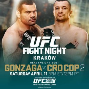 UFC Fight Night: Gonzaga vs. Cro Cop 2 2