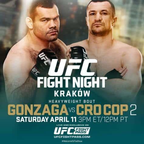 UFC Fight Night: Gonzaga vs. Cro Cop 2 1