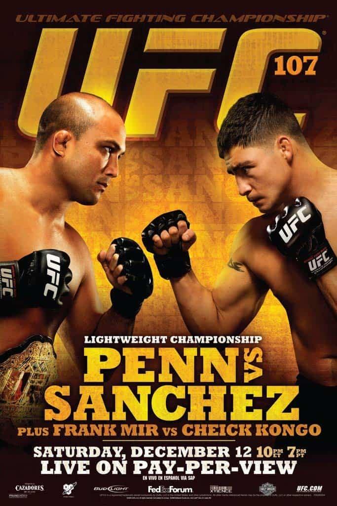 UFC 107: Penn vs. Sanchez 1