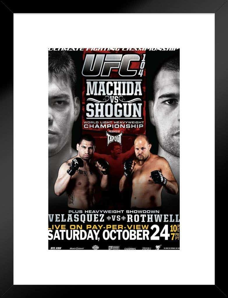 UFC 104: Machida vs. Shogun 1