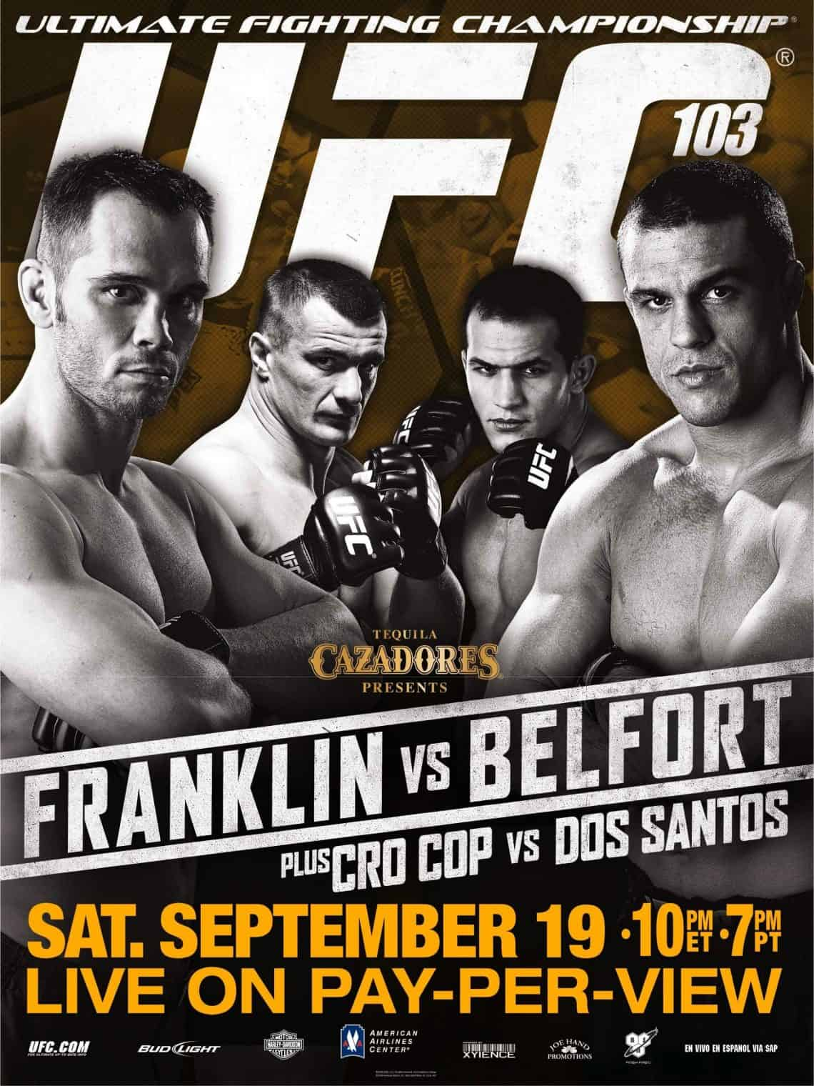 UFC 103: Franklin vs. Belfort 1