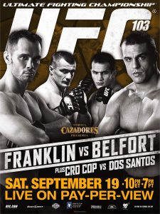 UFC 103: Franklin vs. Belfort 2