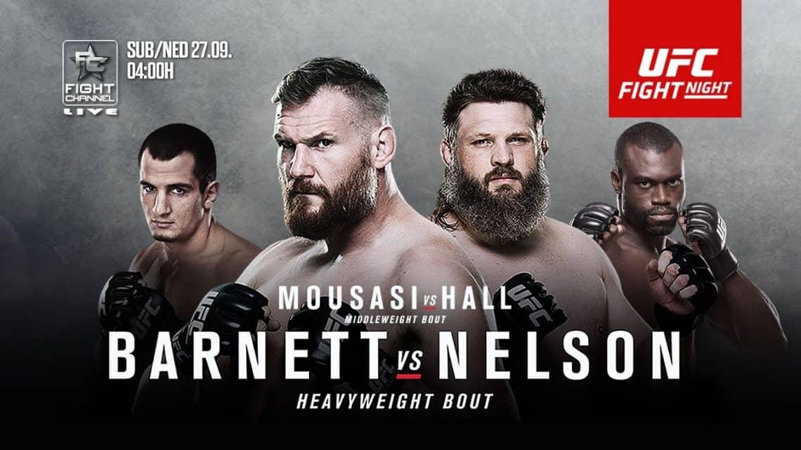UFC Fight Night: Barnett vs. Nelson 1