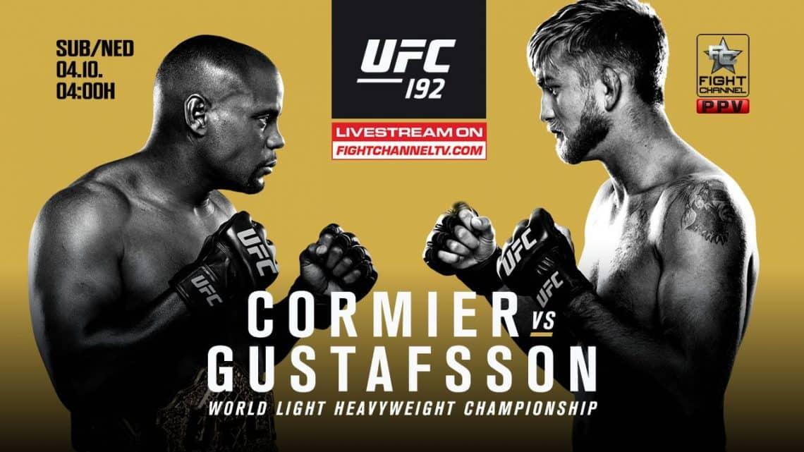 UFC 192: Cormier vs. Gustafsson 1