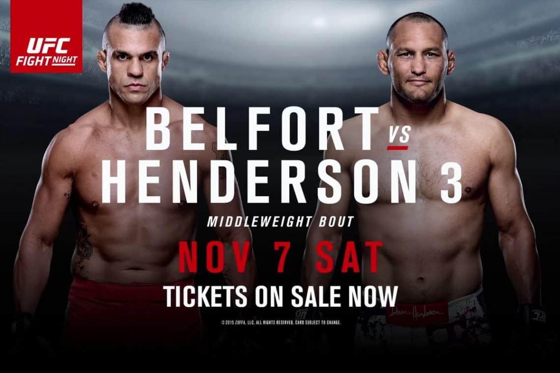 UFC Fight Night: Belfort vs. Henderson 3 1