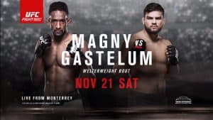 The Ultimate Fighter Latin America 2 Finale: Magny vs. Gastelum 2