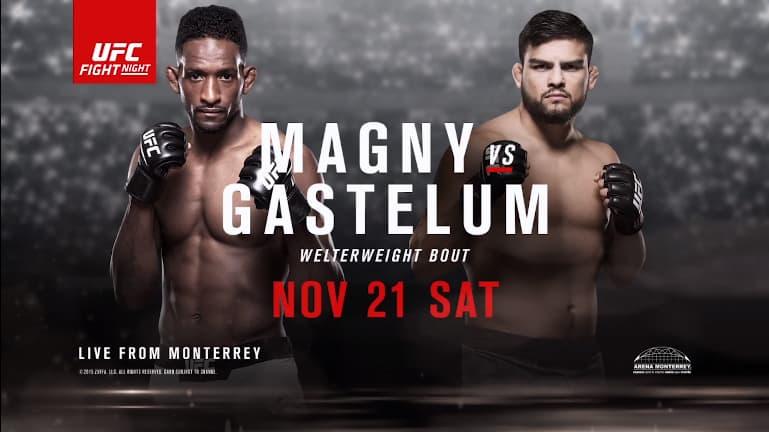 The Ultimate Fighter Latin America 2 Finale: Magny vs. Gastelum 1