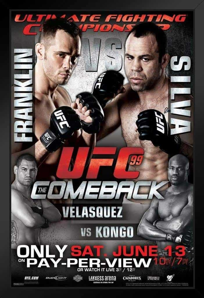 UFC 99: The Comeback 1