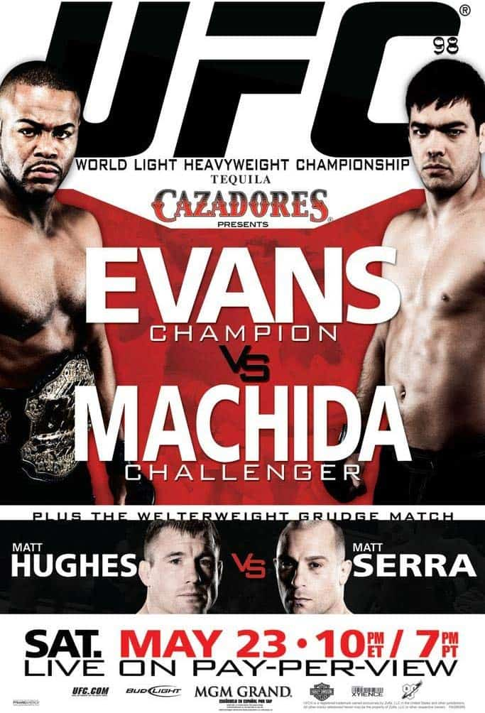 UFC 98: Evans vs. Machida 1