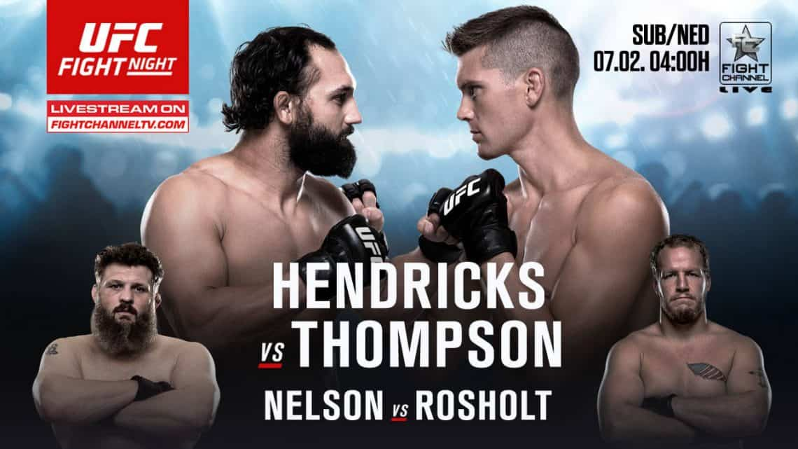 UFC Fight Night: Hendricks vs. Thompson 1
