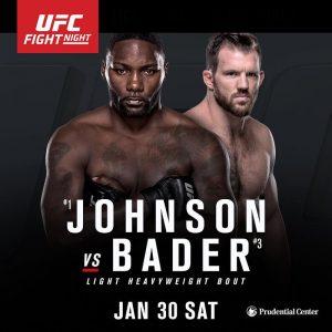 UFC on Fox: Johnson vs. Bader 2