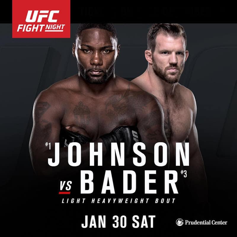 UFC on Fox: Johnson vs. Bader 1