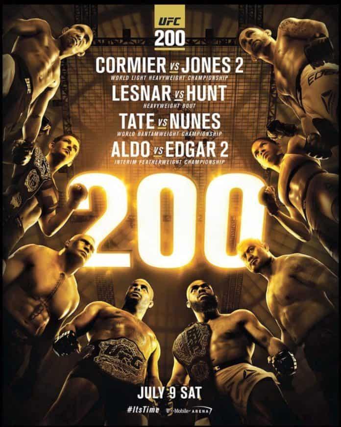 UFC 200: Tate vs. Nunes 1