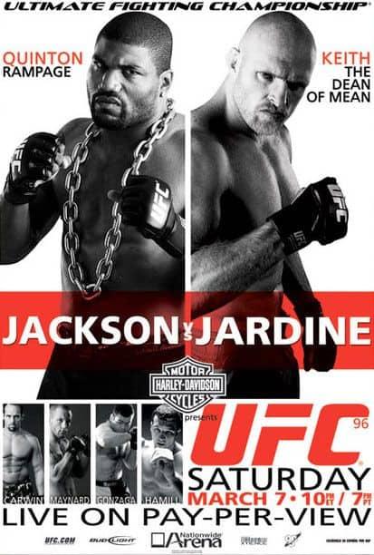 UFC 96: Jackson vs. Jardine 1