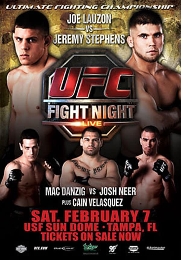 UFC Fight Night: Lauzon vs. Stephens 1