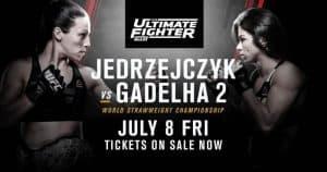 The Ultimate Fighter: Team Joanna vs. Team Cláudia Finale 2