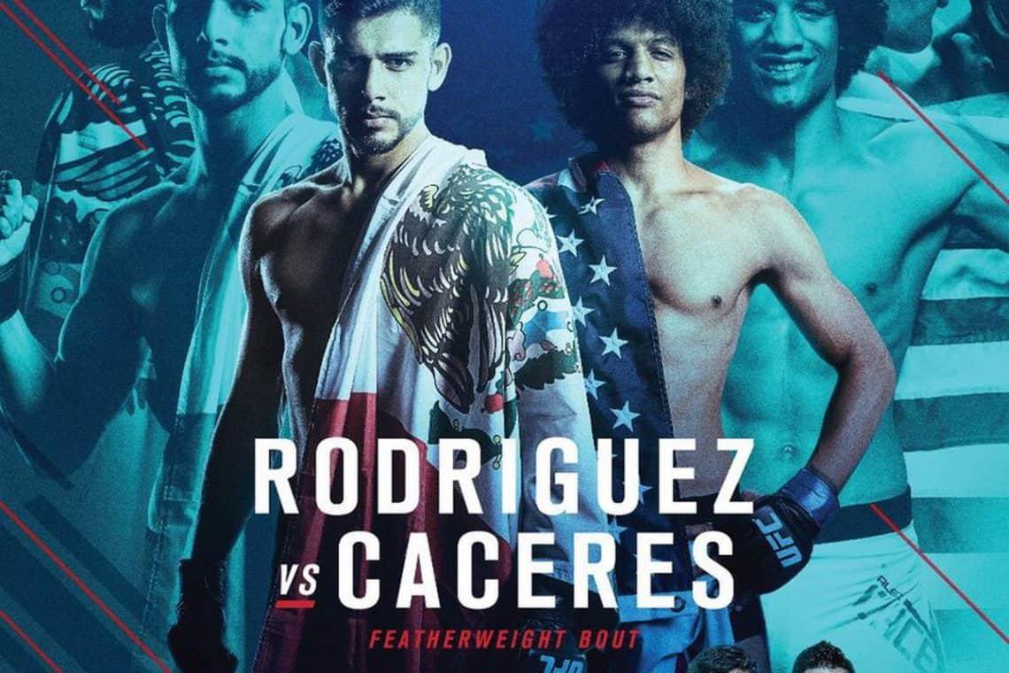 UFC Fight Night: Rodríguez vs. Caceres 1