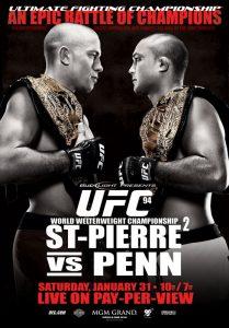 UFC 94: St-Pierre vs. Penn 2 2