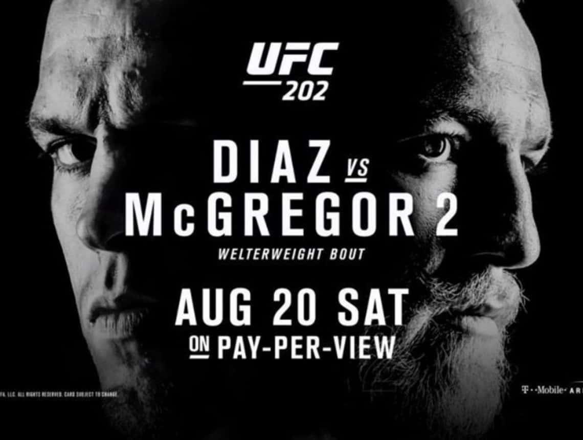 UFC 202: Diaz vs. McGregor 2 1