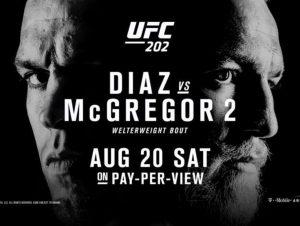 UFC 202: Diaz vs. McGregor 2 2