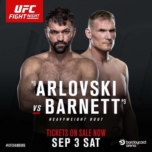 UFC Fight Night: Arlovski vs. Barnett 1
