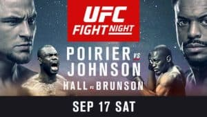 UFC Fight Night: Poirier vs. Johnson 2