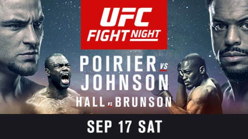 UFC Fight Night: Poirier vs. Johnson 1